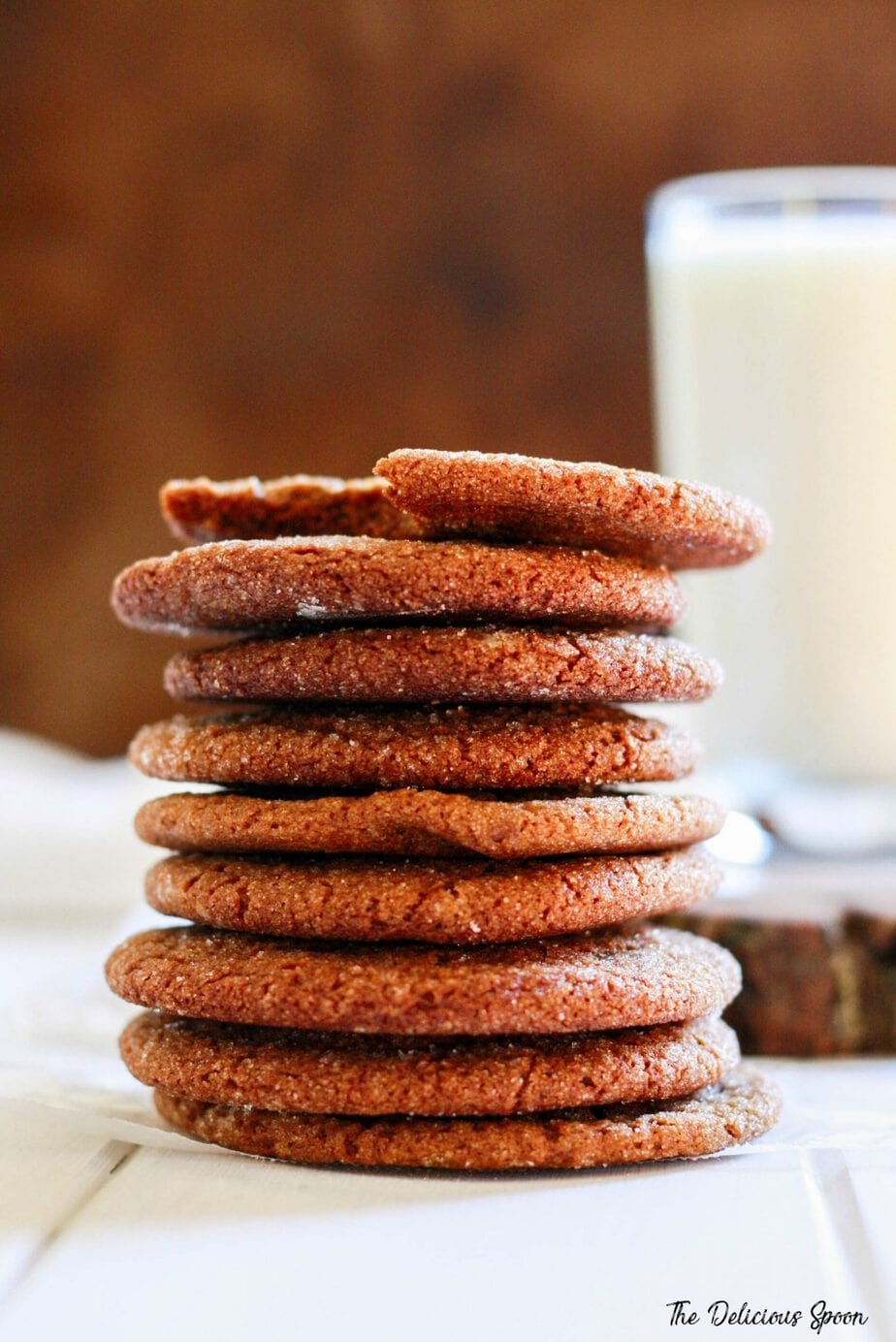 The Very Best Gingersnap Cookies
