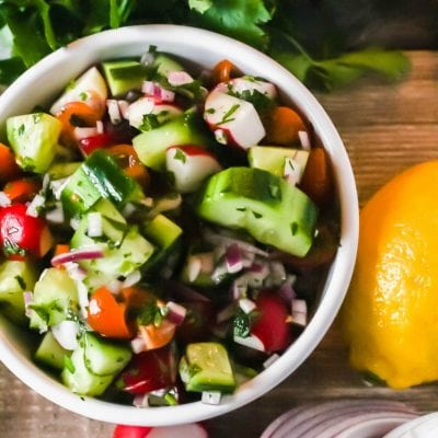 Fattoush Salad – Tangy and Crunchy Goodness in a Bowl