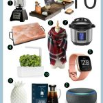 A collage of 10 holiday gift ideas for mom
