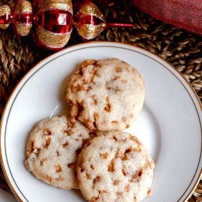 Skor Shortbread Meltaway Cookies