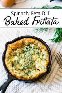 Pin 1 of Baked Frittata Recipe