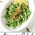 Pinterest pin of Salad
