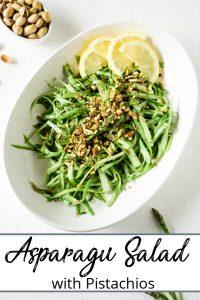 Pinterest pin of Salad