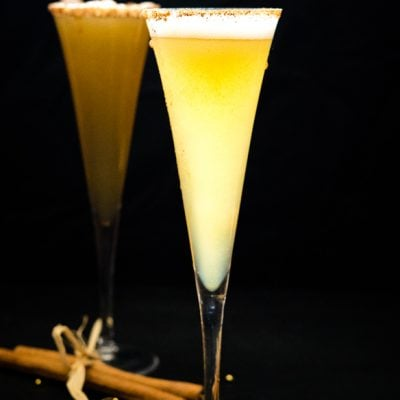 Apple Cider Mimosas – A Sparkling Apple Cider Cocktail