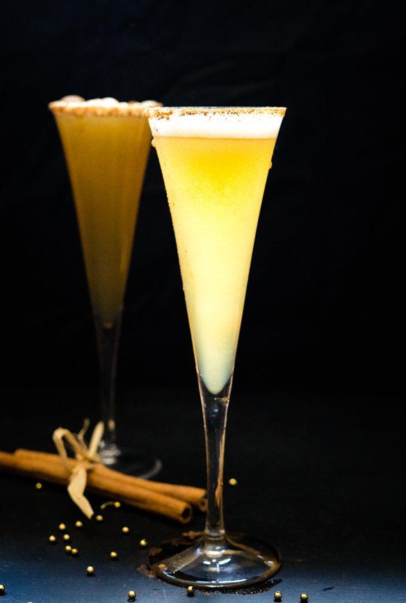 Apple Cider Mimosas – A Sparkling Apple Cider Cocktail