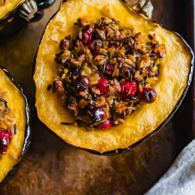 The Ultimate Baked Acorn Squash