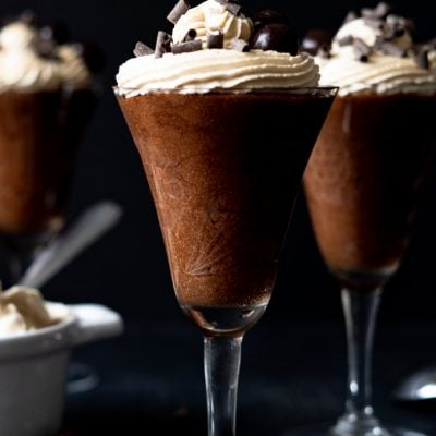 Irish Cream Coffee Mousse