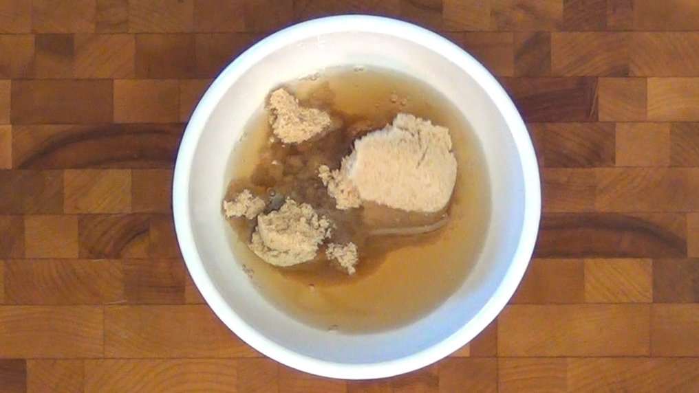A bowl of spiced rum and brown sugar