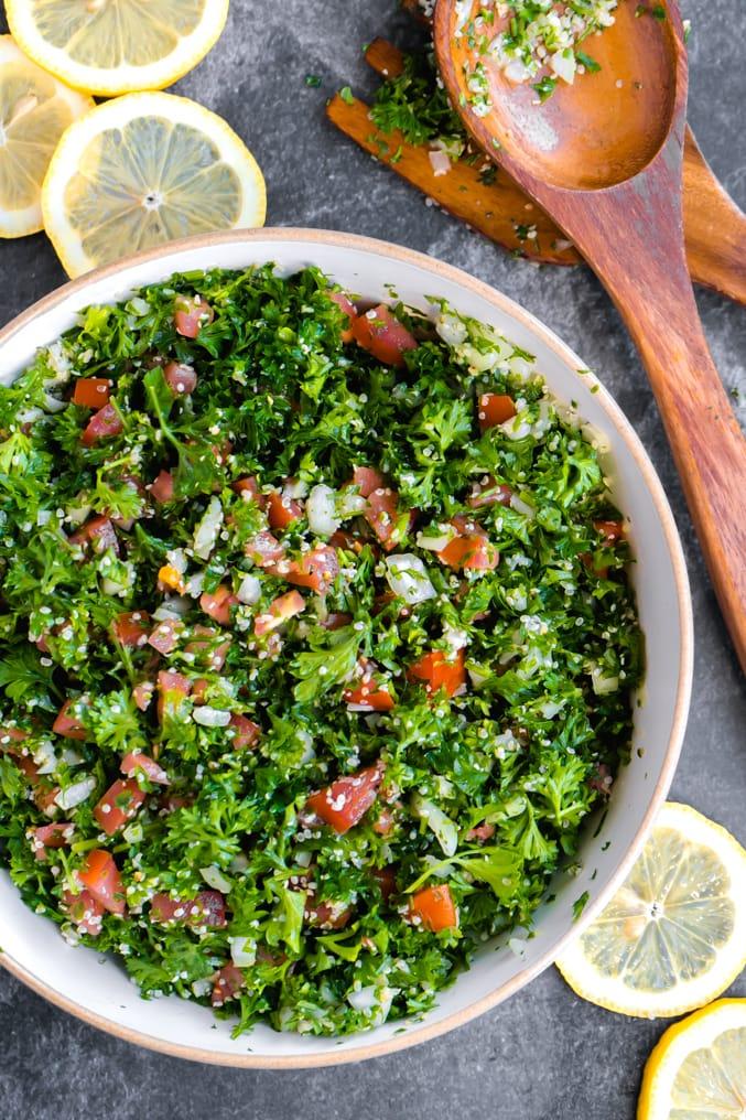 Hemp Tabouli Salad