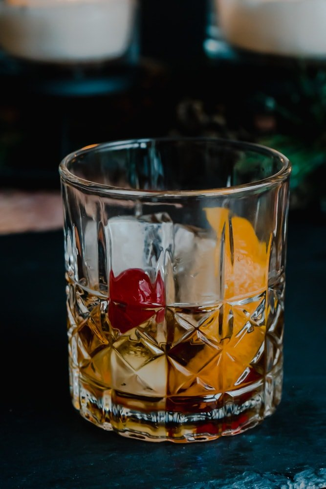 Canadian Maple Old-Fashioned