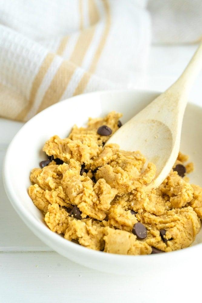 High Protein Edible Cookie Dough  Recipe