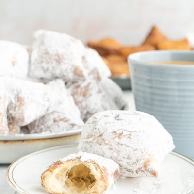 Homemade Buttermilk Beignets