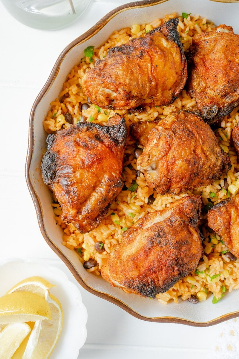 Crispy Oven-Baked Chicken Thighs