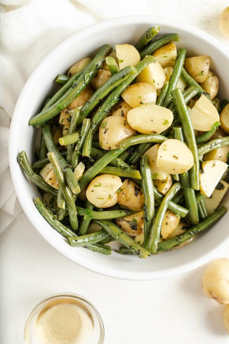Italian Potato Salad with Green Beans